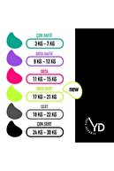 YDFit Loop Band Yd Band Direnç Lastiği Egzersiz Bandı Orta Sert Neon Yeşil(17-21 KG)