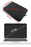 Beutel Unisex 13-13.3-14 Inç Uyumlu Su Geçirmez Macbook Kılıf Notebook Laptop Çantası - Kd- Füme