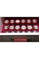 Paşabahçe Bella Mini Baharatlık Etiketli Takım 12 Li Takım