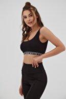 Pattaya Kadın Yazı Şeritli Spor Sütyeni P21s201-2173