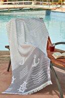 Zeynep Tekstil Marine 75x150 Cm Ultra Soft Plaj Havlusu