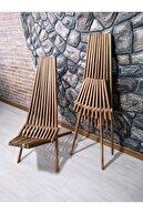 UYC Dekor Mobilya Katlanır Ahşap Sandalye