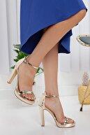 LİLLA AYAKKABI Yüksek Topuk Kadın Abiye Ayakkabı
