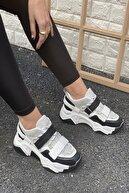 İnan Ayakkabı Kadın Siyah&Gri Ayakkabı&Sneaker INASPORT10