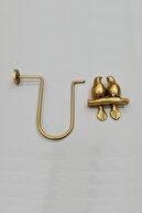 lissehome Kuşlu U Renso Gold Altın