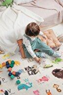 Hamur Animals 150x150 cm Oyun Matı Bebek Ve Çocuk Halısı