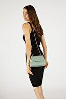 Etka Çanta Kadın Mint Yeşili Nakışlı Mini Gissle Çanta