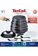 TEFAL Titanium Ingenio Elegance 20 Parça Maxi Set 20 Parça