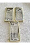 New Life Ipek Kirpik 3d- 3 Kutu D Kıvrım 0,12 Kalınlık 11-12-13mm Uzunluk (HESAPLI PAKET)