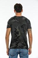 BOVARY Kamuflaj Desenli T-shirt