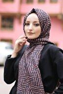 Moda Prusa Desenli Pamuk Şal - Mpds-0223