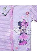 First Choice Lisanslı Disney Minnie Mouse Çizgili Kız Bebek Takım