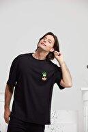 By Okat Oversize Nakışlı Summer Ananas T-shirt.