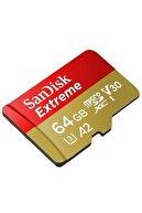Sandisk Extreme 64gb Micro Sdxc 160mb/60mb/s Uhs-ı Hafıza Kartı Sdsqxa2-064g-gn6