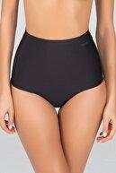 Kom Kadın Mikro Modal Dikişsiz Izsiz Yüksek Bel Bikini Külot 2 Li