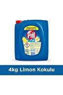 Pril 3'lü Güç Limon Sıvı Bulaşık Deterjanı 4 kg