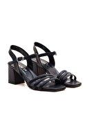 Gate29 Luis Siyah Renk Topuklu Günlük Kadın Ayakkabı