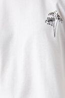 Koton Kadın Kirik Beyaz T-Shirt 1YAK13106EK
