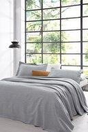Yataş Bertin Tek Kişilik Yatak Örtüsü Seti - Gri