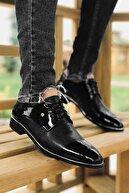TAMBOĞA AYAKKABI Tomms Damatlık Rugan Klasik Erkek Ayakkabı 573-1