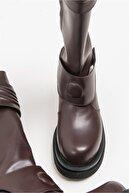 luvishoes 235 Kahve Kadın Çizme