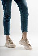 luvishoes Kadın Bej  Spor Ayakkabı 65119