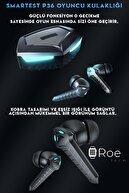 SMARTEST Led Işıklı Kablosuz Mikrofonlu Android& Ios Uyumlu Bluetooth V5.0 Oyuncu Kulaklığı