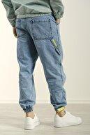 Oksit Erkek Mavi Jean Pantolon