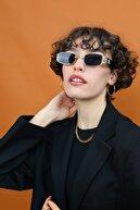 Madamra Siyah Kadın Vintage Güneş Gözlüğü