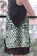 Tuc Design Pullu El Örgüsü Postacı Çanta