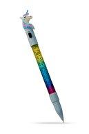 Evbuya Işıklı Unicorn Simli Sulu Jel Mürekkep Kalem