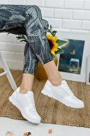 Ekol Ayakkabi Beyaz Kadın Ayakkabı