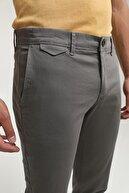 D'S Damat Slim Fit Gri Chino Pantolon