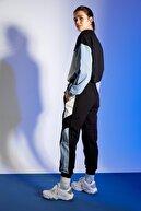 Defacto Kadın Siyah Beli Bağcıklı Jogger Eşofman Altı