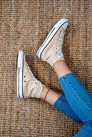Bartrobe Bilekli Kadın Keten Spor Ayakkabı