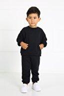 LUESS Çocuk Siyah Cepli Alt Üst Takım
