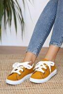 Pembe Potin Kadın Hardalnubuk Ayakkabı