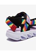 Skechers Küçük Kız Çocuk Siyah Sandalet