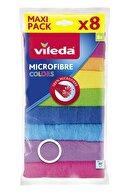 Vileda Colors Mikrofiber Bez 8'li