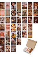 postifull Vintage Duvar Posteri Kolaj Seti - 40 Adet - Estetik - Retro Poster Seti - 10cm*15cm