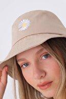 Addax Papatya Işlemeli Bucket Şapka Şpk1035 - E2
