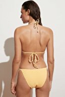 Oysho Kareli Üçgen Bikini