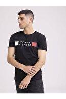 Tommy Hilfiger Camiseta Stripes Masculina Erkek T-shirt
