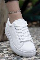 Riccon Beyaz  Kadın Sneaker 0012205