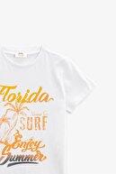 Koton Erkek Çocuk T-shirt Ekru