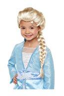 HERASTORE Parti Platin Altın Dore Renk Karlar Ülkesi Elsa Frozen Peruğu Çocuk Boy