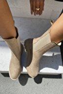 İnan Ayakkabı KADIN NUDE BOT&BOOTİE&POSTAL 21INA115