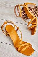 Bambi Hardal Kadın Klasik Topuklu Ayakkabı K05575000109