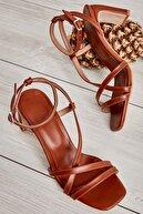 Bambi Taba Kadın Klasik Topuklu Ayakkabı K05575000109