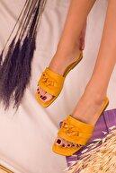 Soho Exclusive Sarı-Sarı Kadın Terlik 16094